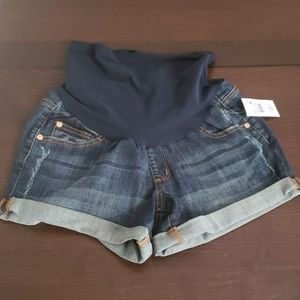 Pea in the Pod Denim Shorts NWT